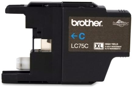 COMPATIBLE BROTHER LC75 CYAN CARTRIDGE