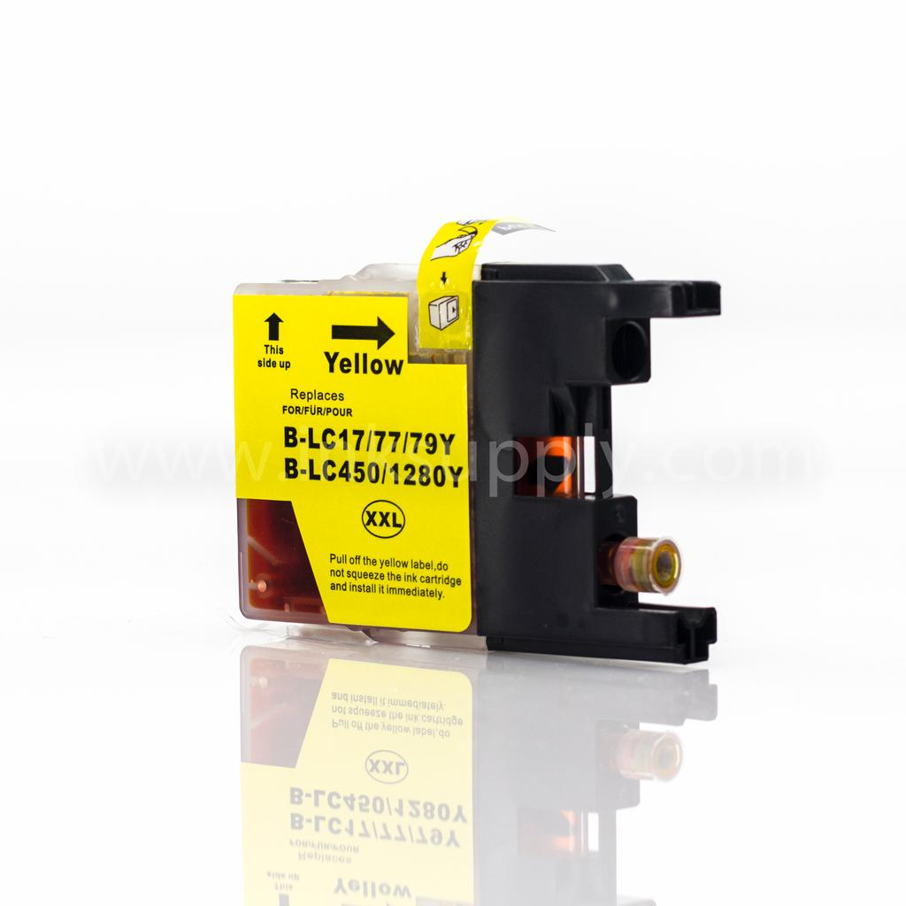 COMPATIBLE BROTHER LC79 HIGH YIELD YELLOW CARTRIDGE