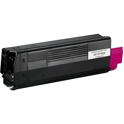 REMANUFACTURED OKIDATA 42127402 MAGENTA LASER TONER CARTRIDGE