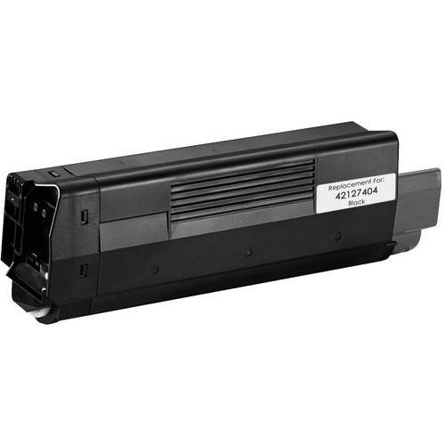 REMANUFACTURED OKIDATA 42127404 BLACK LASER TONER CARTRIDGE