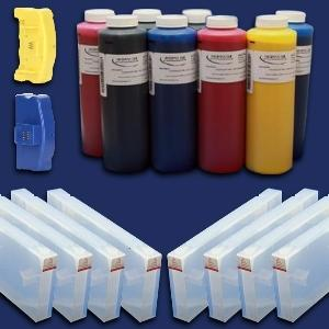FUNNEL FILL CARTRIDGE REFILL KIT EPSON STYLUS PRO 7890/9890 PRINTERS