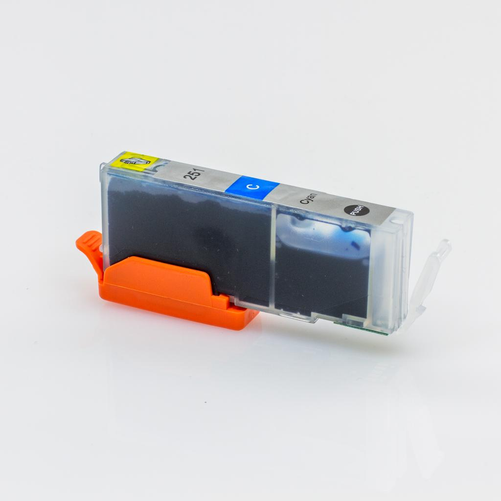 COMPATIBLE CANON CLI-251XL (CLI251XL) HIGH YIELD CYAN INK CARTRIDGE