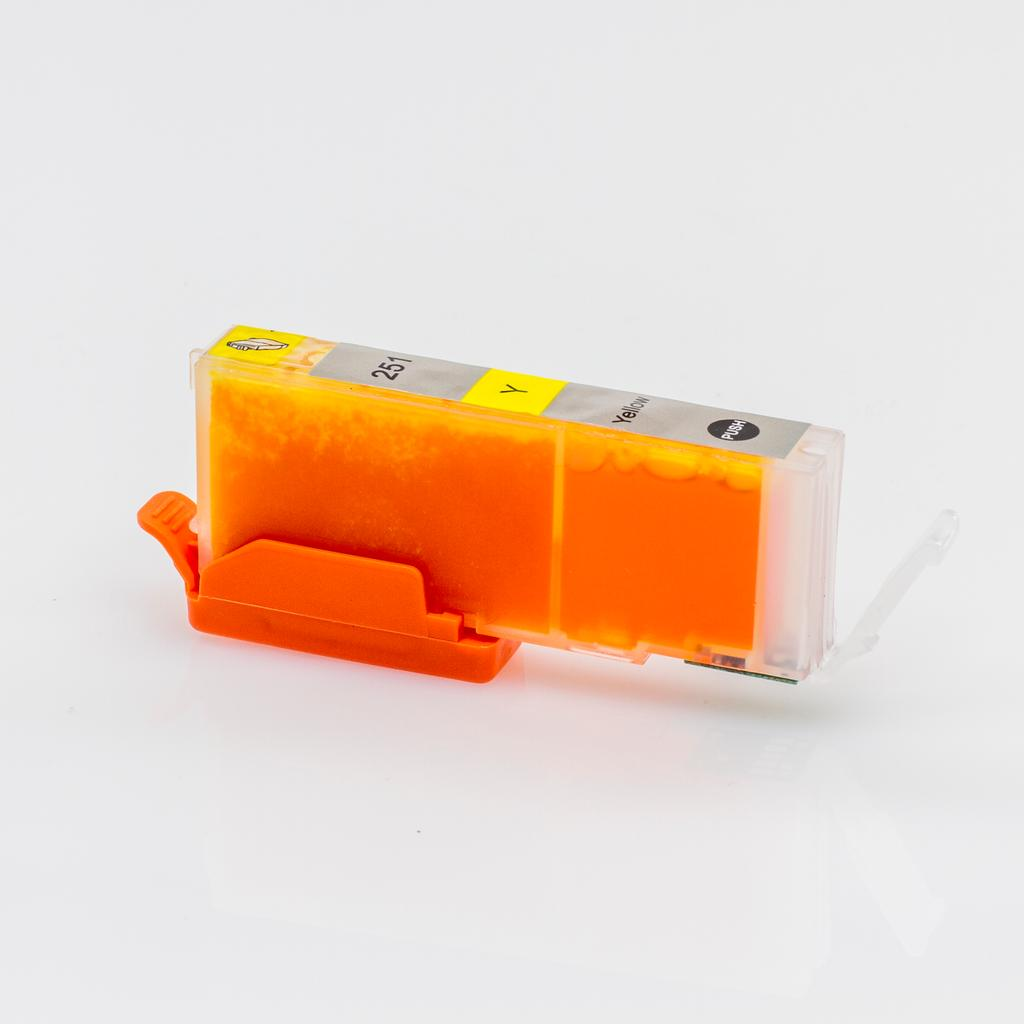 Compatible CLI-251XL Yellow Cartridge For Canon Printers - Not OEM