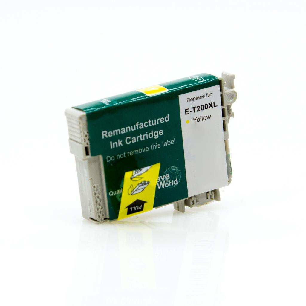 REMANUFACTURED EPSON T200XL (T200XL420) YELLOW INK CARTRIDGE