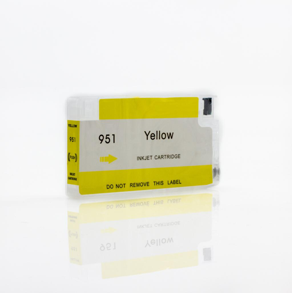 EMPTY REFILLABLE CN048AN (HP951XL) YELLOW CARTRIDGE - Not OEM