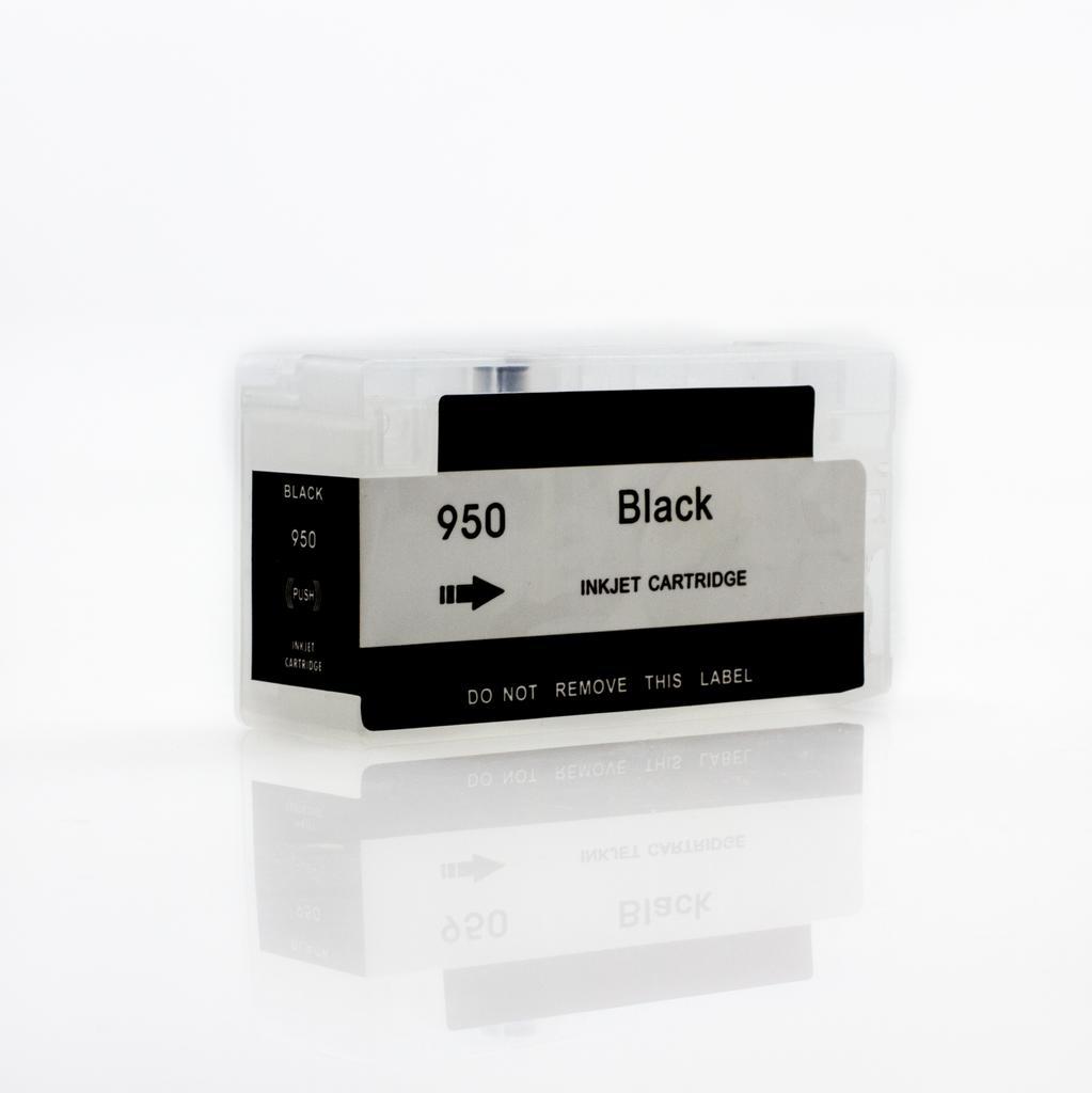 EMPTY REFILLABLE CN045AN (HP950XL) BLACK CARTRIDGE - Not OEM