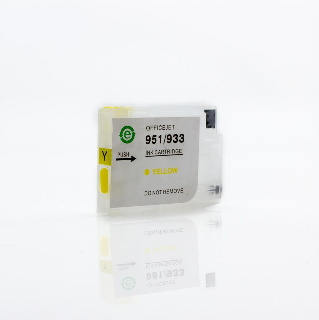 EMPTY REFILLABLE CN056AN (HP933XL) YELLOW CARTRIDGE - Not OEM