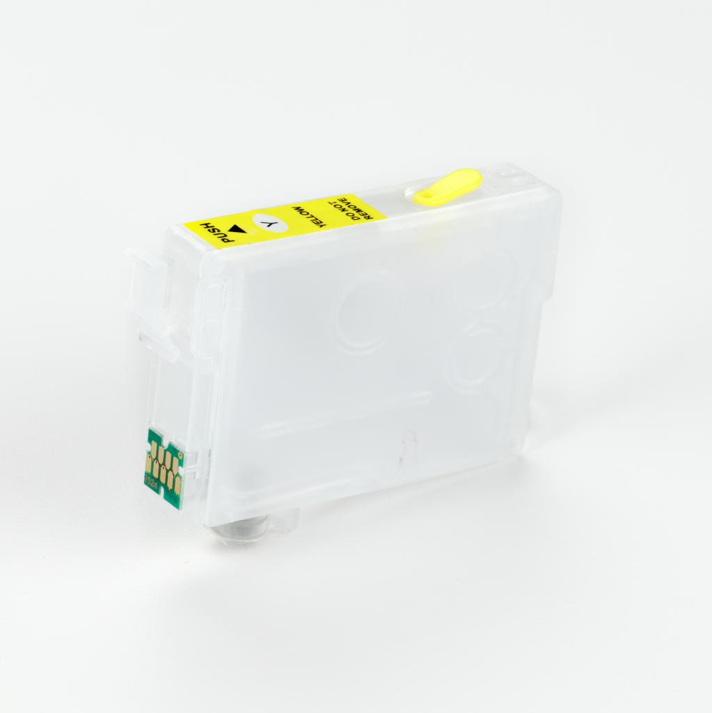 EPSON COMPATIBLE T2524 YELLOW EMPTY CARTRIDGE WITH QUICK RESET CHIP (NO CHIP RESETTER REQUIRED)