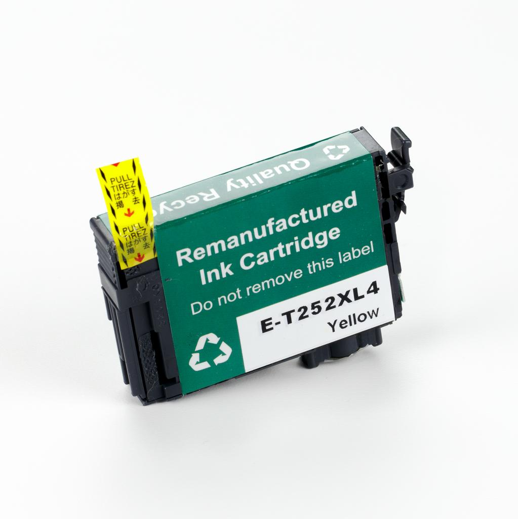 REMANUFACTURED EPSON T252XL (T252XL420) YELLOW INK CARTRIDGE