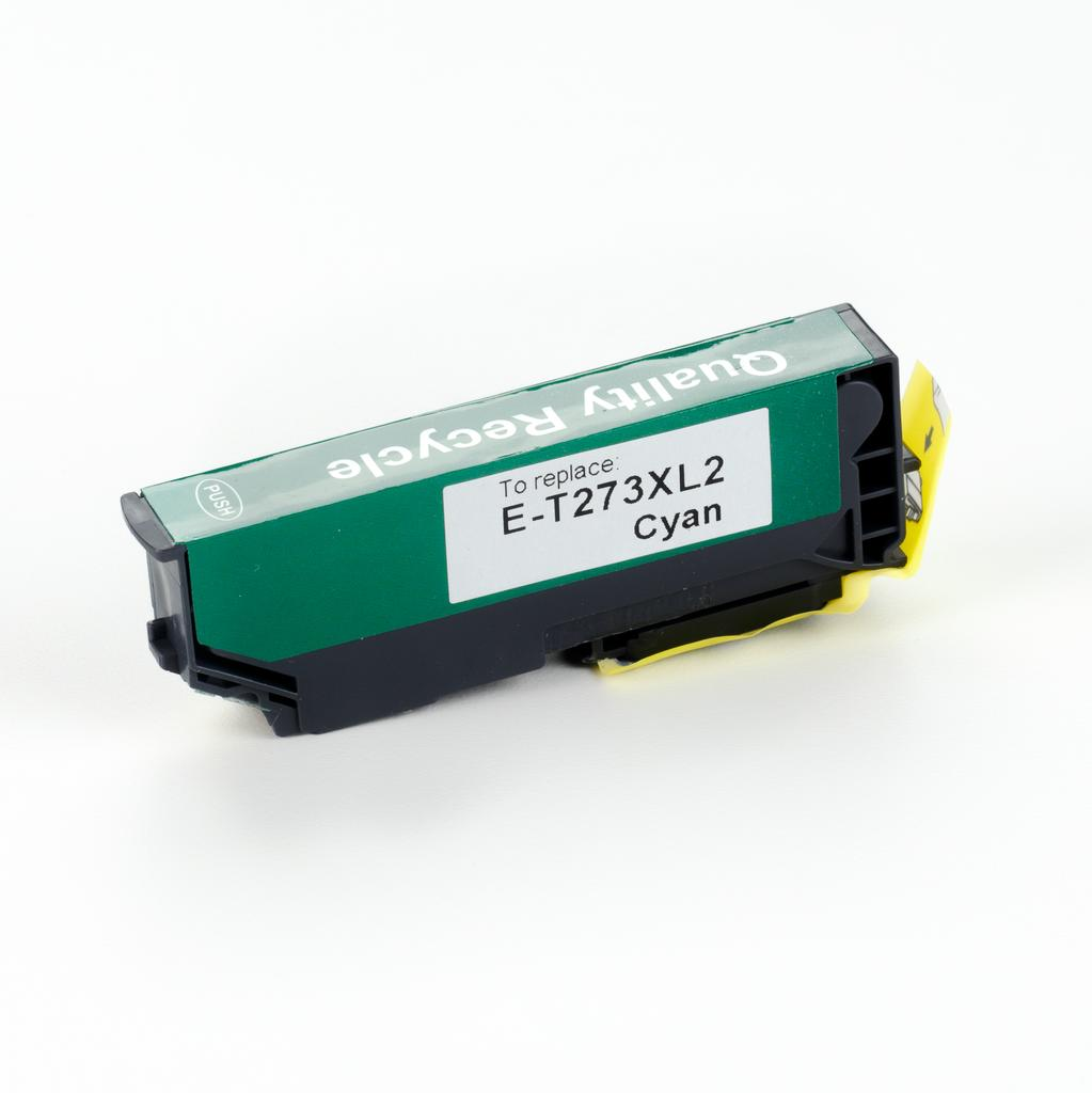 REMANUFACTURED EPSON T273XL CYAN CARTRIDGE