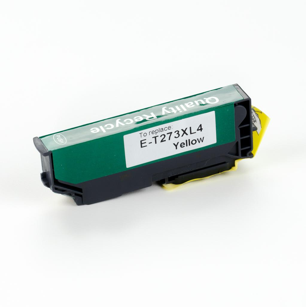 REMANUFACTURED EPSON T273XL YELLOW CARTRIDGE